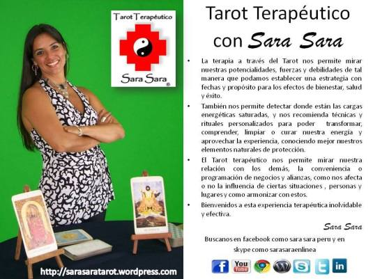 Tarot Terapeutico Sara Sara consultorio